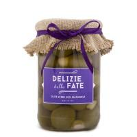 Olive Verdi con Mandorla