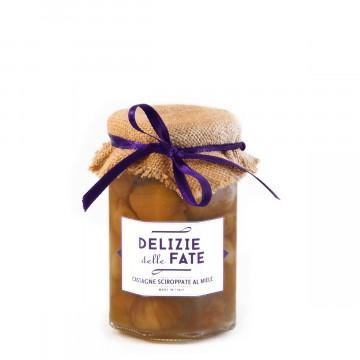 Castagne sciroppate al miele