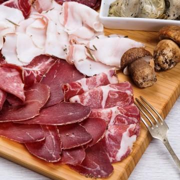 Lard from Arnad + Beef Mocetta