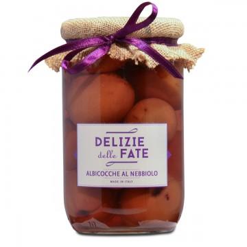 Apricots in Nebbiolo wine