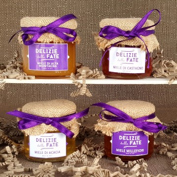 4 Honeys from Piedmont