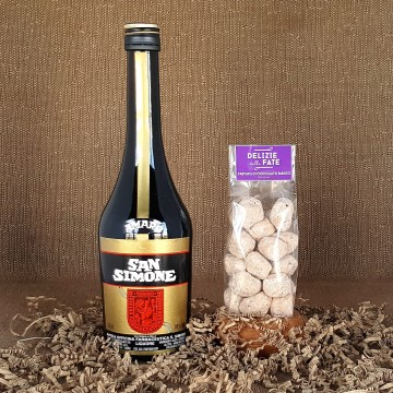 Amaro san Simone + Tartufo di Cioccolato bianco