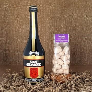 Amaro san Simone + White Chocolate Truffle