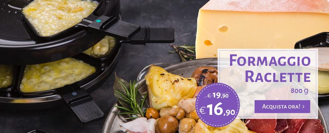 Formaggio Raclette - Delizie delle Fate